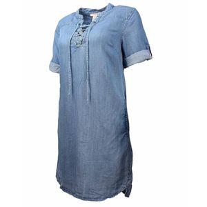 ff0b69f9915 ROBE Robe en daim à lacets pour femmes