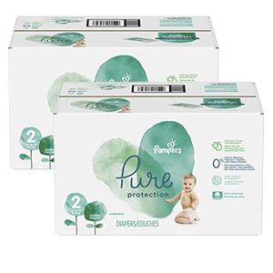 COUCHE 324 Couches Pampers Pure Protection taille 2