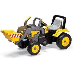 TRACTEUR - CHANTIER PEG PEREGO Tracteur à pédales Maxi Excavatrice