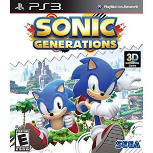 JEU PS3 Sonic Generations - PlayStation 3