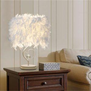 LAMPE A POSER STOEX Lampe de chevet en plume pour lecture salons