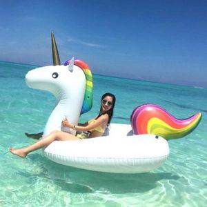 JEU DE PALET STOEX®  Bouée Femme Gonflable Unicorne Licorne Flo