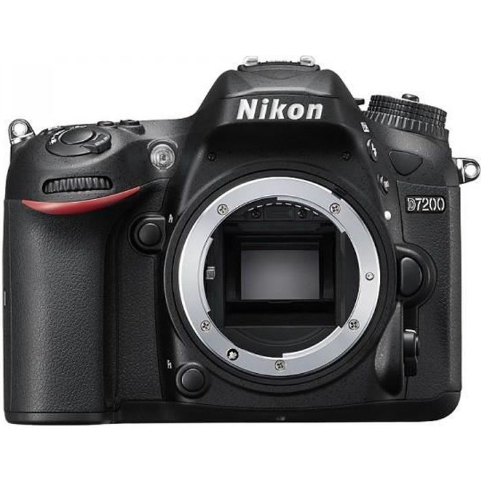 NIKON D7200 NU Boitier Nu - Expeed 4 - HDMI - WIFI intégré