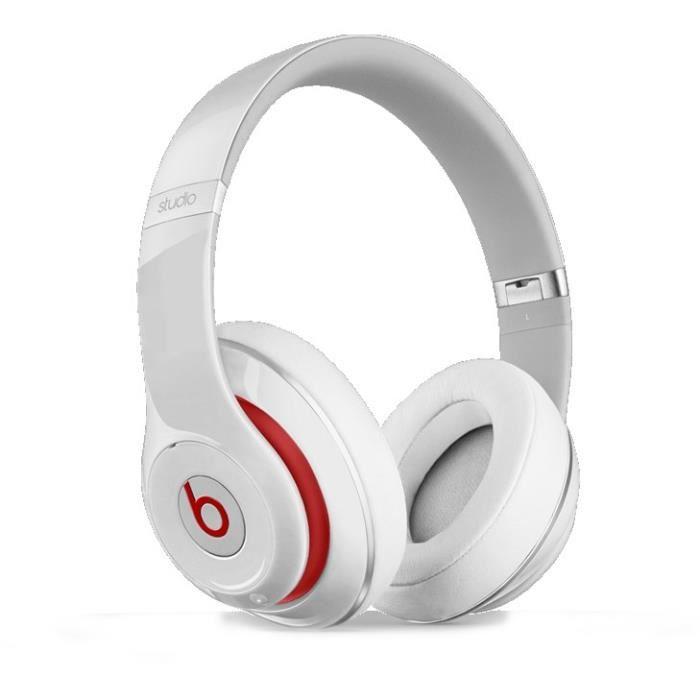 beats studio 2 blanc casque audio avec micro int g casque couteurs avis et prix pas cher. Black Bedroom Furniture Sets. Home Design Ideas