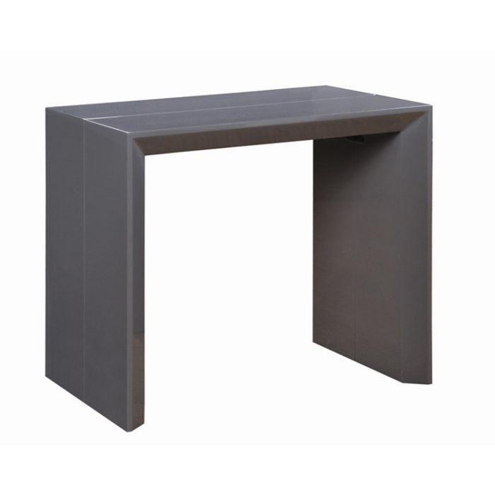 console extensible en table repas extenso delux achat vente console extensible console. Black Bedroom Furniture Sets. Home Design Ideas