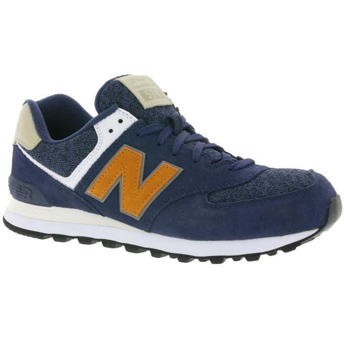 New Balance 574 Hommes Bleu Formateurs ML574VAK