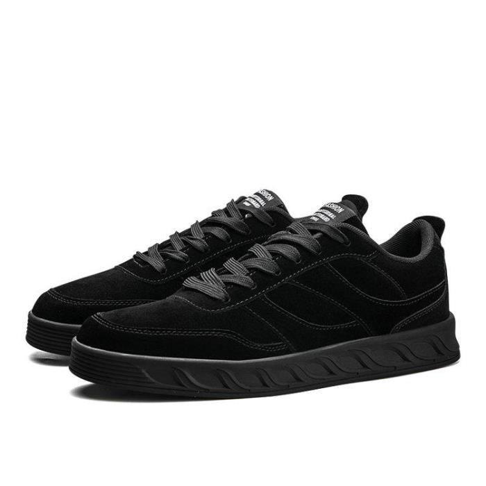 Chaussures DéTente Mesh Extensible Respirant Antichoc Douceur AntidéRapant Homme Noir R83327466_H303 S9kdD7e