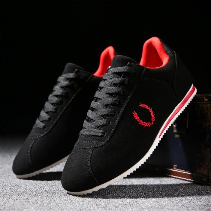 Meilleure Chaussures Qualité Beau 44 Nouvelle Hommes Classique Chaussures Qualité Sneakers tendanceUnie Haut Couleur 39 LéGer 4RxqEYw