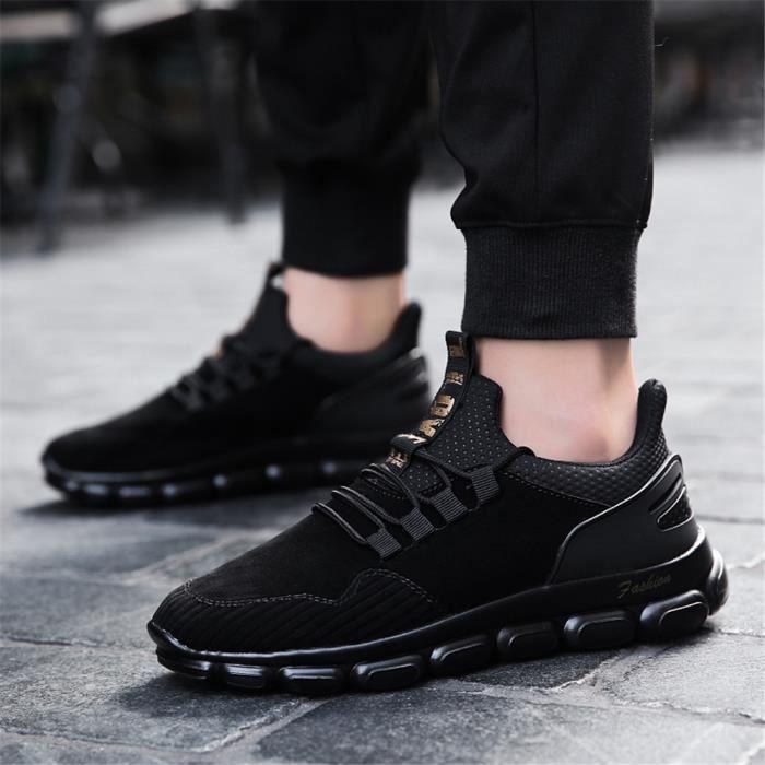 Homme Entreprise Noir L'usure Antidérapant gris À Respirant Chaussures Résistantes Baskets Sneakers SxT6w6