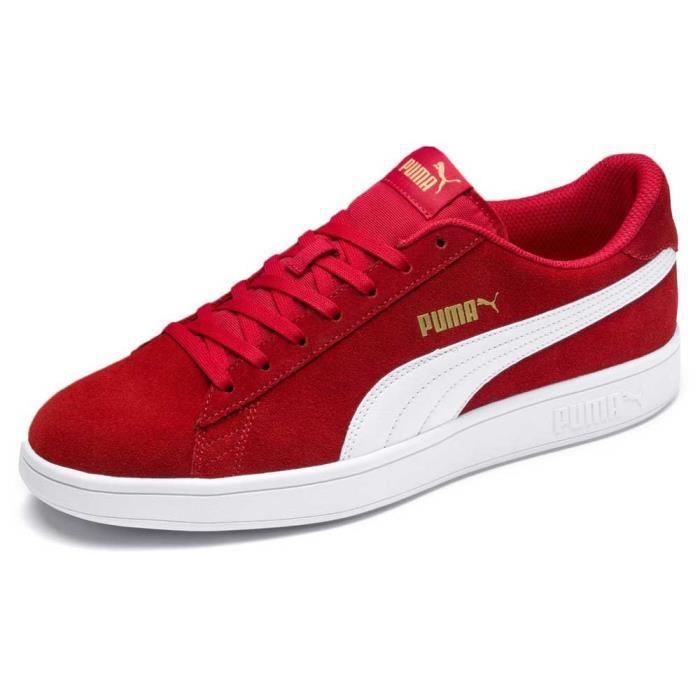 puma chaussure homme rouge