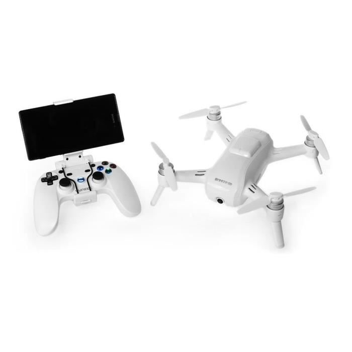 DRONE Yuneec Yunfcaus Breeze Compact Smart Drone Ultra H