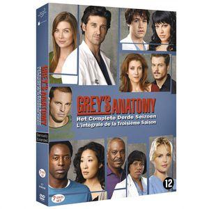 DVD SÉRIE GREY'S ANATOMY A COEUR OUVERT Saison 3, L'intégral