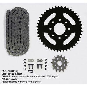 Kit chaîne pour Yamaha Fz-6 Fazer N/S 600 de 04