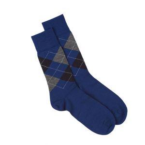 CHAUSSETTES Chaussettes Edinburgh Burlington - Ecossais Blu…