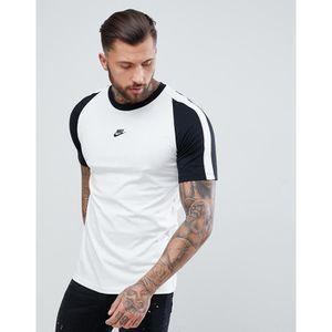 Nike N98 - T-shirt avec logo au centre - Blanc AH8648-121 HHQ2A ... 7e8b68d24dcd