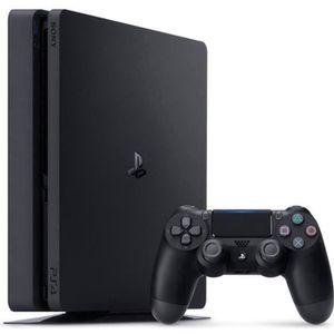 CONSOLE PS4 Nouvelle PS4 Slim Noire 500 Go