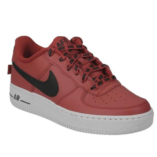 Nike air force 1 lv8 junior rouge chaussures baskets mode