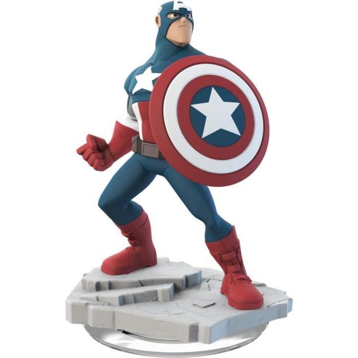 FIGURINE DE JEU Figurine Captain America Disney Infinity 2.0