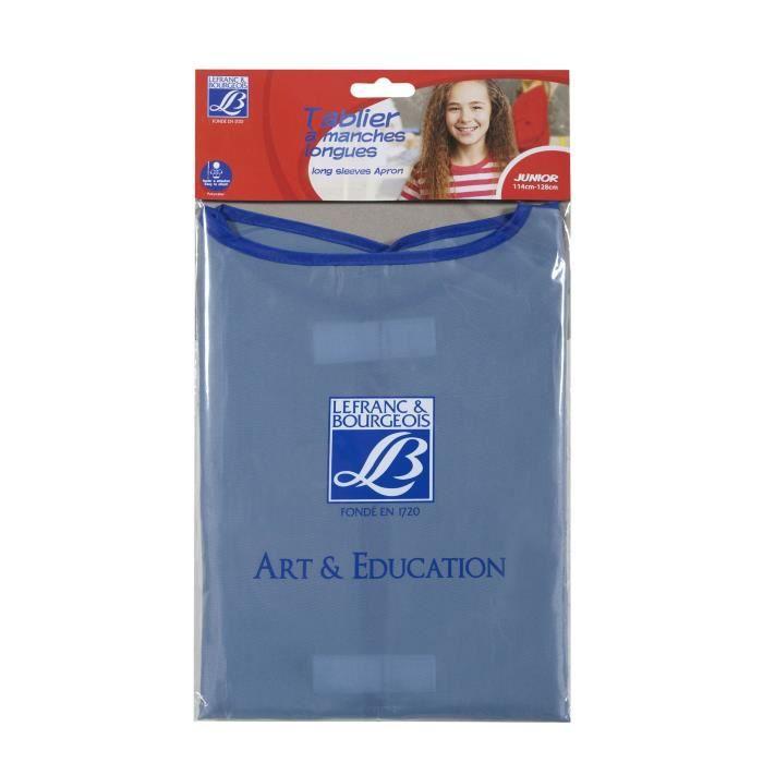 Tablier en nylon à manches longues, doté d'attaches en velcro. Pour les enfants de 6 à 8 ans (114 à 128 cm).TABLIER DE PROTECTION