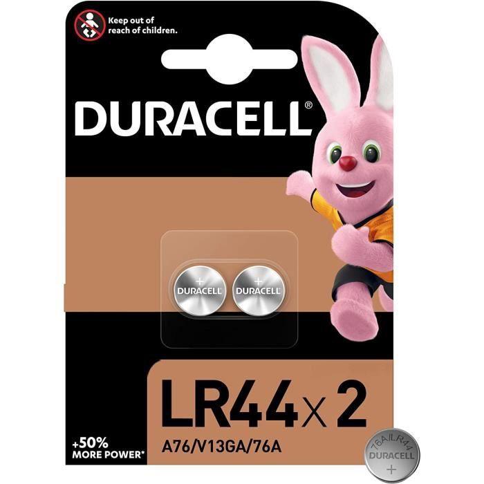 DURACELL Spéciale Piles type LR44 Lot de 2