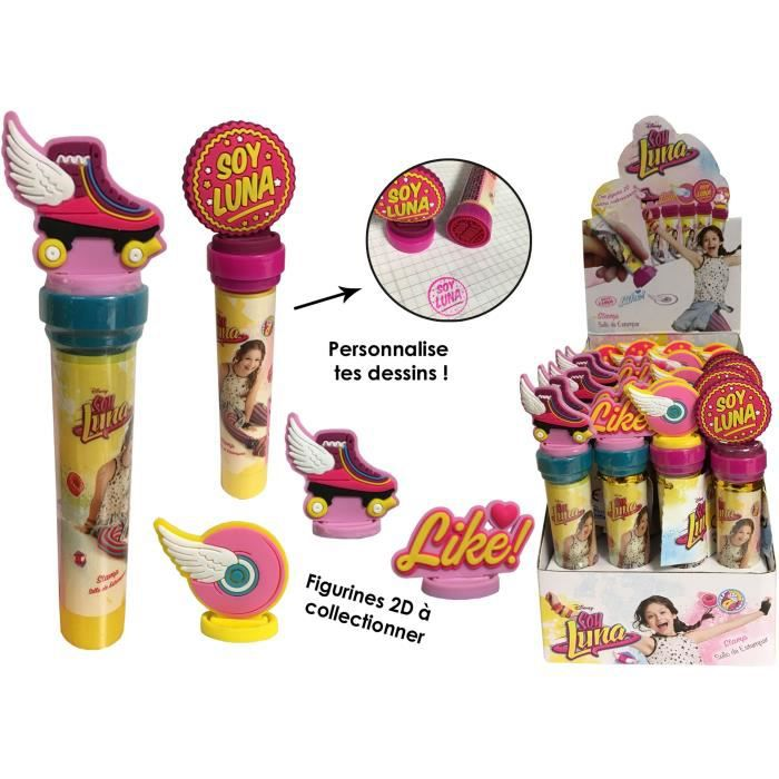SOY LUNA - Tampons Figurines