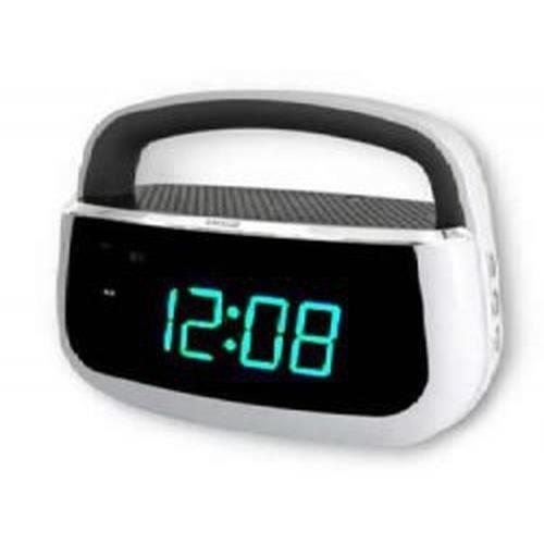 Akai Ar130we, Horloge, Analogique, Fm, Blanc, 9 V