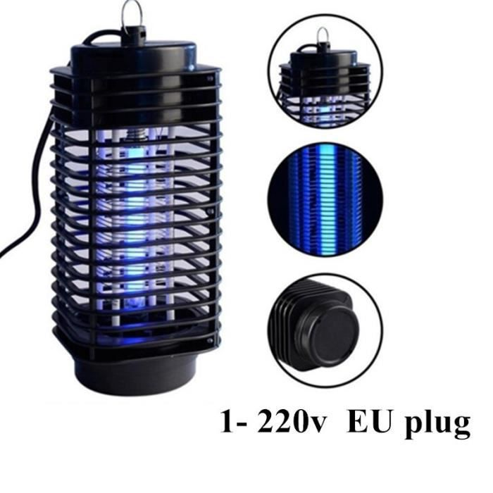 awesome lampe antiinsecte v lectrique mosquito fly bug insect zapper tue with lampe anti. Black Bedroom Furniture Sets. Home Design Ideas