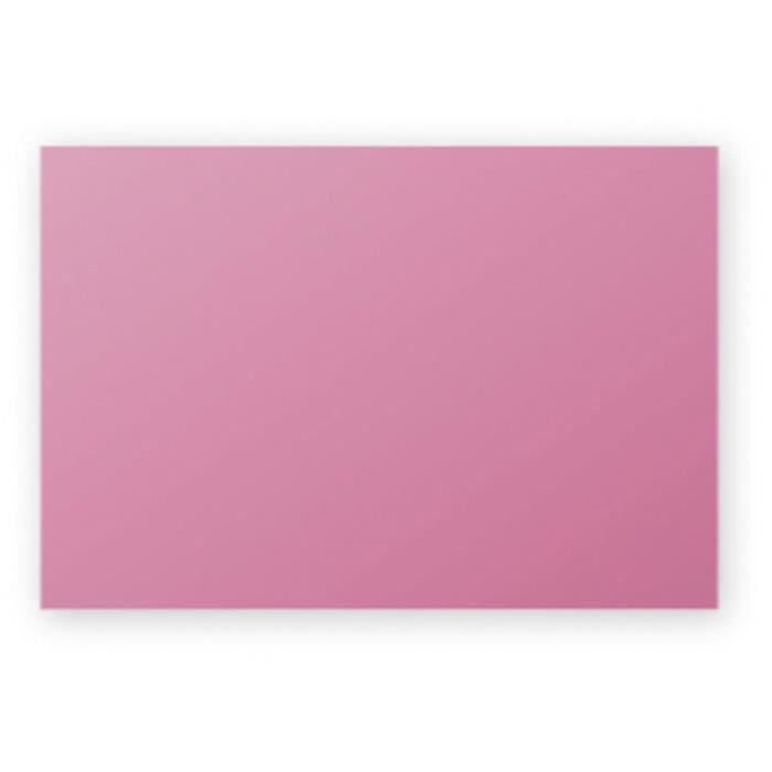 Carte 210g 82x128 Rose Hortensia Pqt 25