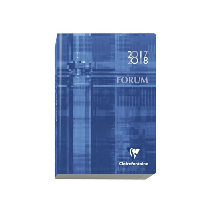 Carte Cdiscount Forum 2018.1 Agenda Forum Metric 2017 2018 17 X 12 Cm Multilingue Couleur