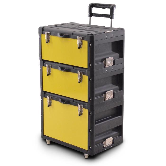 caisse boite outils sur roulettes pour rangement outils achat vente boite a outils caisse. Black Bedroom Furniture Sets. Home Design Ideas