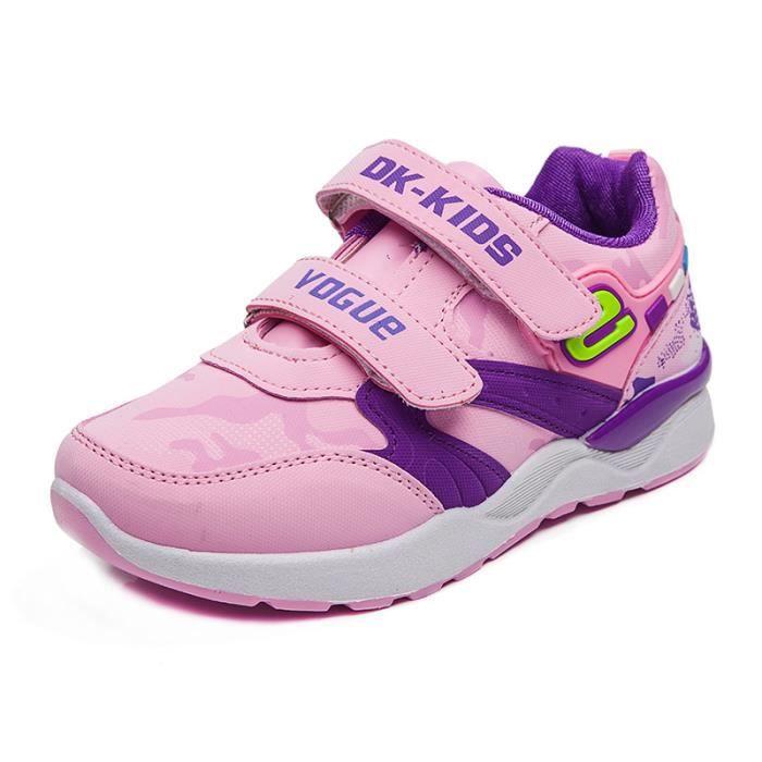baskets Enfants ChaussuresGarçon Jeunes filles Respirante Chaussures de sport kpYoHRN