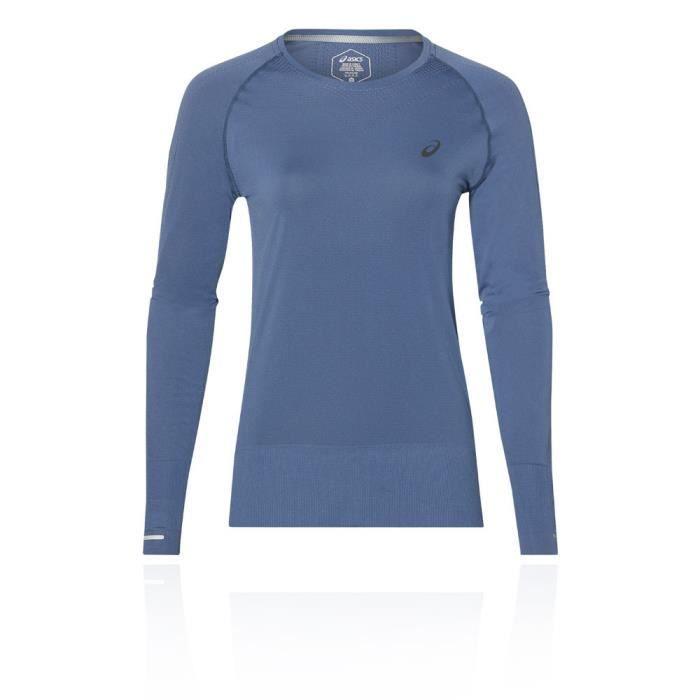 Asics Femmes Sans Coutures Manche Longue Top De Jogging Sport