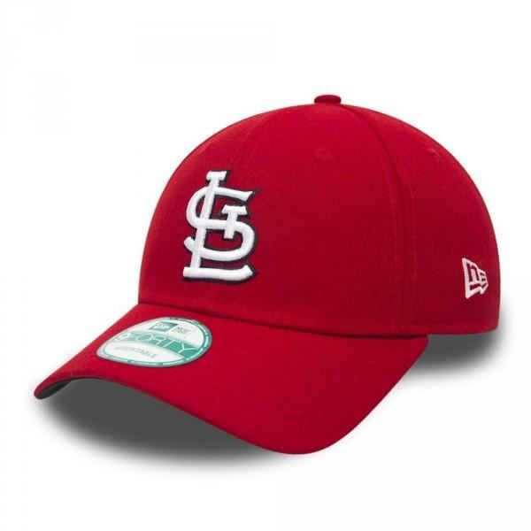 40f4d873d97af Casquette de Baseball MLB Saint Louis Cardinals New Era The League 9Forty  Adjustable rouge