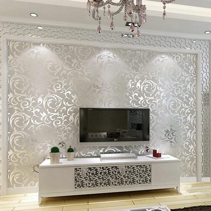 Papier peint 3D Rouleau de mur de décoration à la maison non-tissé on