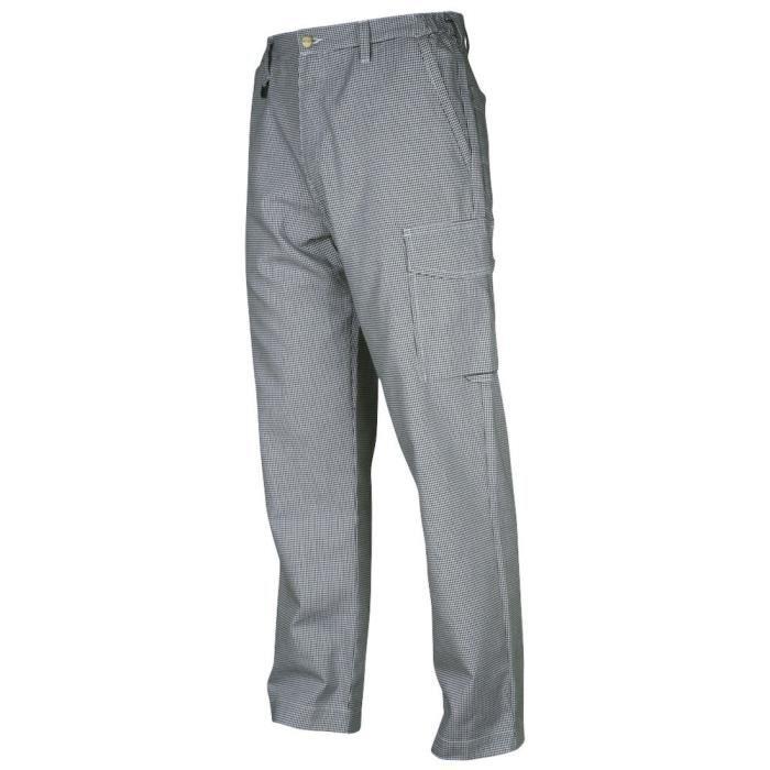 PANTALON PRO Pantalon de chef cuisinier - Homme - D108 (38/32)