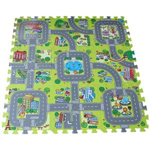 tapis route enfant achat vente tapis route enfant pas cher cdiscount. Black Bedroom Furniture Sets. Home Design Ideas