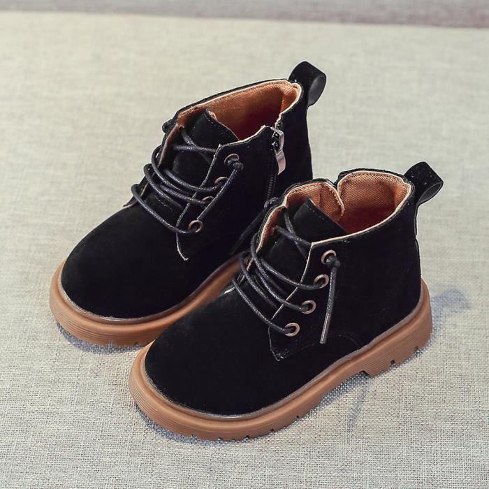 BOTTE Enfants Mode Garçons Filles Martin Sneaker Bottes Enfants Bébé Casual Chaussures@NoirHM DkzW6F6