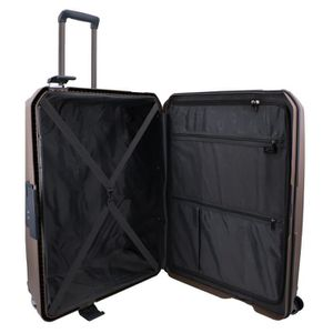 28243b2b90b ... VALISE - BAGAGE Valise taille moyenne 65 cm 4 roulettes 100% Polyp. ‹›
