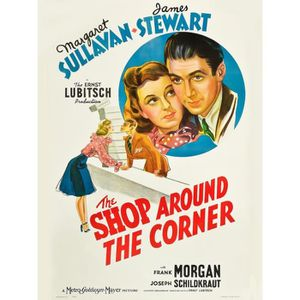 AFFICHE - POSTER SHOP AROUND THE CORNER (THE) J Stewart reproductio