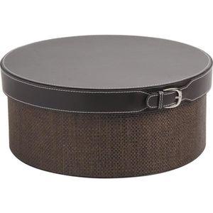 meuble rangement en simili cuir achat vente meuble rangement en simili cuir pas cher cdiscount. Black Bedroom Furniture Sets. Home Design Ideas