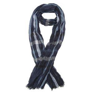 ECHARPE - FOULARD Foulard, chèche écharpe pour homme rayé bleu domin ed45a9931cb