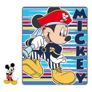 COUVERTURE - PLAID BÉBÉ Couverture plaid polaire Disney Mickey  120x140