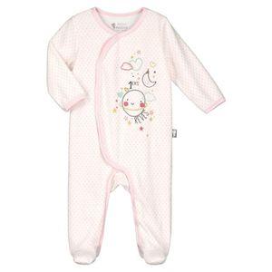 aafe450e52a Ensemble de vêtements Pyjama bébé velours rose Jolie Planète - Taille -