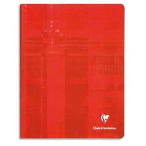 CAHIER Lot de 5 Cahiers brochure, 192 pages, Grand carrea
