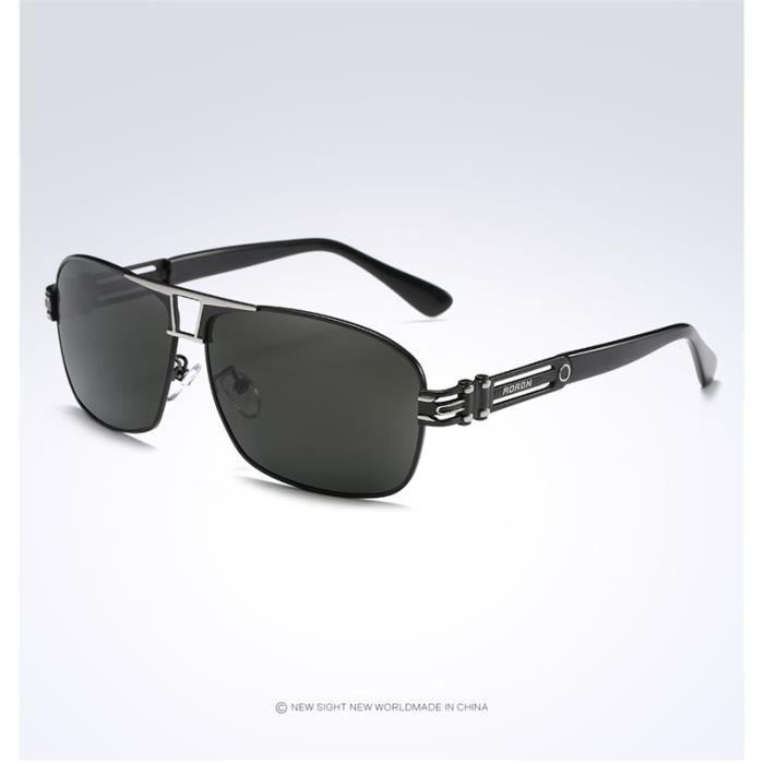 Homme Polarisé Carré lunettes de soleil Femme Classic Marque Leisure  Lunettes de soleil homme gafas oculos de sol Masculino 4e998cdc1f36