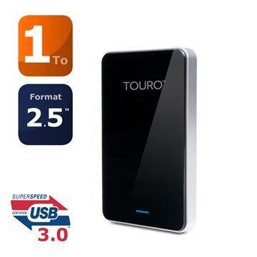 DISQUE DUR EXTERNE HGST disque dur Touro Mobile Pro 1To USB 3.0
