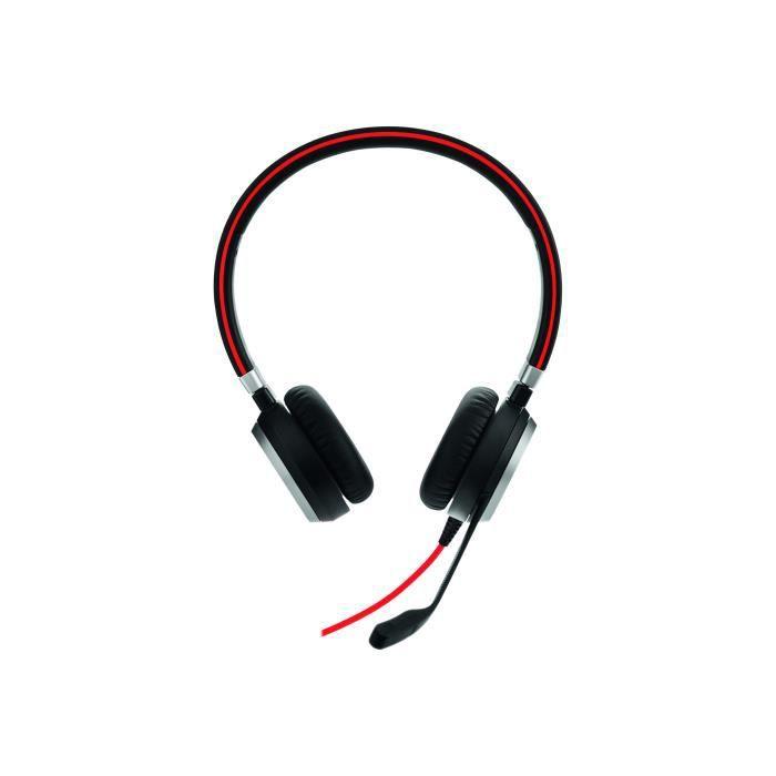 Jabra Evolve 40 Uc Stereo Casque Sur-oreille Filaire