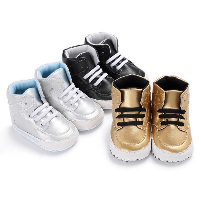 d9c76815fe892 ... garçon crèche chaussures à semelle souple anti-dérapant sneakers  LMH71229553. BASKET Lavieni ®Nouveau-né infantile bébé ...