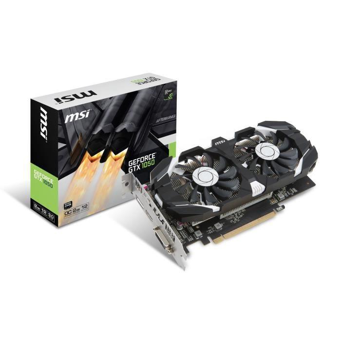 CARTE GRAPHIQUE INTERNE MSI Carte Graphique GeForce GTX 1050 2GT OCV1