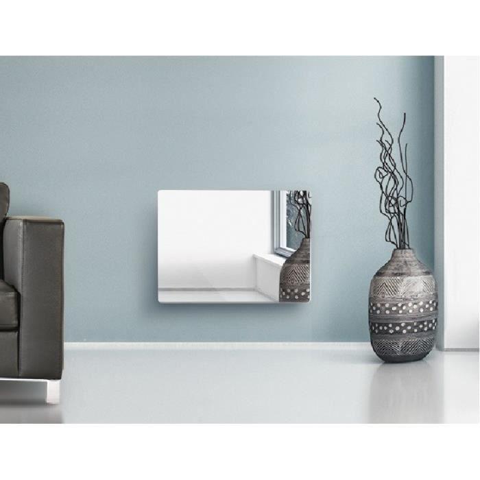 cocoon 39 radiateur lectrique panneau rayonnant verre. Black Bedroom Furniture Sets. Home Design Ideas